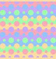 seamless pattern vibrant rainbow colors on stri vector image vector image