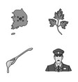 shirt travel and other monochrome icon in cartoon vector image vector image
