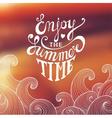 Summertime Banner vector image vector image