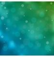 Blue bokeh light background vector image