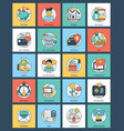 100 finance and banking icons vector image vector image