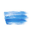 blue abstract watercolor isolated on white vector image