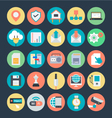 Communication Colored Icons 4 vector image vector image