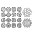 Pattern in arabesque style vector image vector image