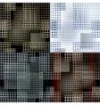 Seamles lattice pattern vector image
