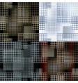 seamless lattice pattern vector image vector image