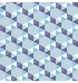 seamless pattern of blue triangles vector image