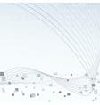Technology geometrical hi-tech layout vector image vector image