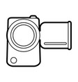 video camera vector image vector image
