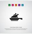 chicken icon simple vector image