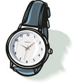 classic wrist watch eps 10 vector image