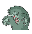 funny big mosnter vector image vector image