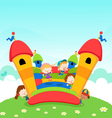 Jumping castle vector | Price: 3 Credits (USD $3)