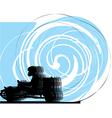 Kart race vector image