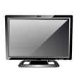 LCD computer monitor vector image vector image