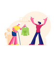 senior woman grandmother with walking cane vector image vector image