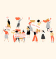 set images for international womens day vector image