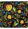 traditional russian floral ornament vector image