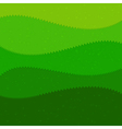 Green grass cartoon kids style background vector image