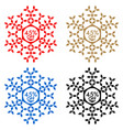 45 off discount sticker snowflake 45 off sale vector image vector image