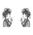 Arguing women vector image