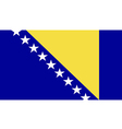 Bosnia and Herzegovina vector image vector image