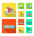 design source and environment icon set vector image