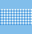 gingham striped checkered blanket tablecloth vector image