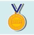 olimpic medal design vector image
