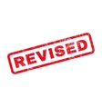 Revised Rubber Stamp vector image vector image