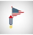 independence day celebration design vector image vector image
