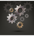 machine gear wheel cogwheel icon vector image vector image
