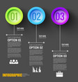 teamwork infographic black layout vector image vector image