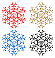 60 off discount sticker snowflake 60 off sale vector image vector image