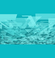 abstract triangles background creative triangular vector image