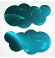 Collection banner design tablet pc computer vector image