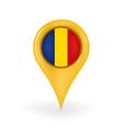 Location Romania vector image vector image