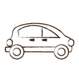 small car icon image vector image vector image