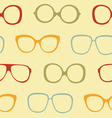 Sunglasses pattern vector image vector image