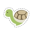 turtle plastic toy pet dotted vector image