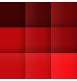 Abstract red squares background vector image vector image