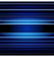 Abstract retro blue stripes colorful background vector image vector image