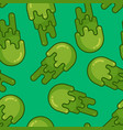 booger background green slime wad texture snot vector image vector image