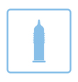 Condom icon vector image