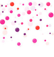 festive multicolored circles vector image