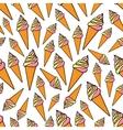 Fruity and vanilla ice cream seamlss pattern vector image vector image