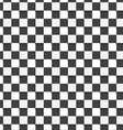 Geometrical pattern with white and black squares vector image