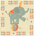Vintage circus vector image