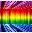 Abstract rainbow retro stripes colorful background vector image vector image