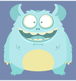 Cute smiling monster vector | Price: 3 Credits (USD $3)